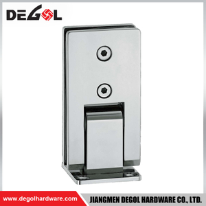 hinge for cabinet door glass