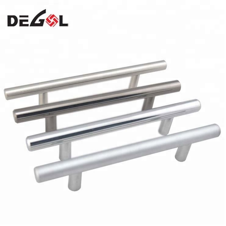 Top Quality Best Selling Stainless Steel Furniture Kitchen T Bar Bedroom Cabinet And Drawers Handle
