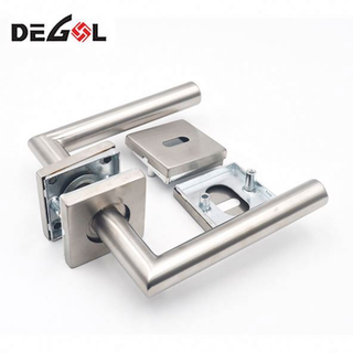 Good Quality Lever Door Handle Entry With Plate