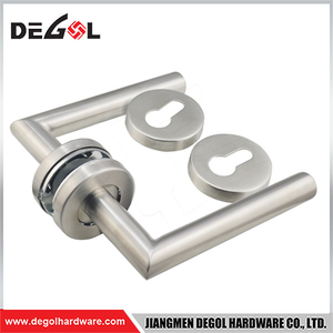 Wholesale Main Interior stainless steel lever door handle