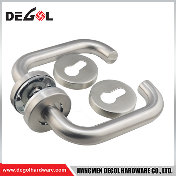 Factory 19mm Tube Stainless Steel 201 Door Handle