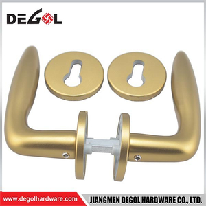 LH1030 GOLD Tube Door Lever Door Handle for Door