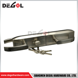 Aluminum frameless glass door magnetic lock