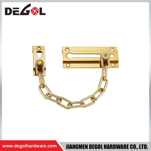 Door hardware front door chain
