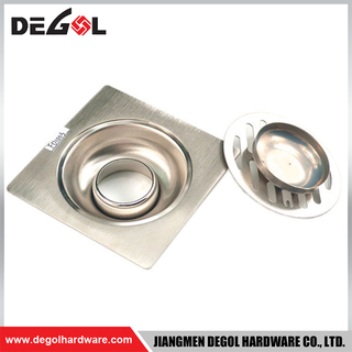 Door Handle With Foot Metal Stainless Steel Floor Drain Gutter Grate