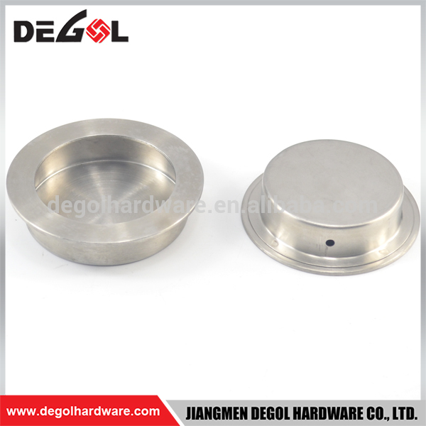 Hot sale stainless steel round hidden conceal cabinet furniture handles door handle