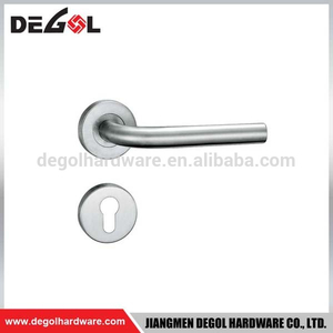 New style stainless steel heavy duty solid lever type elegant safe door handle
