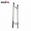 Amecian style cheap price stainless steel door pull handle for commercial door