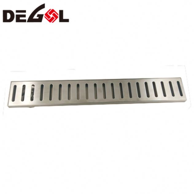 Door Handle With Tube Hinged Toilet Floor Grate Drainage Drain Cover