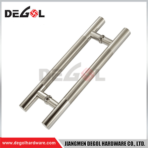 New Modern Contract Stainless Steel Double Open Glass Door Pull Handle