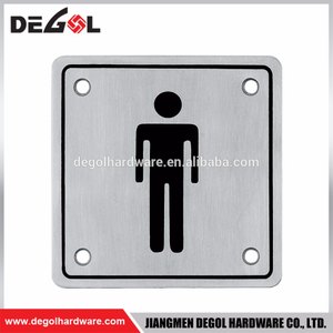 Custom High Quality Indoor And Outdoor Metal Door Sign Plate