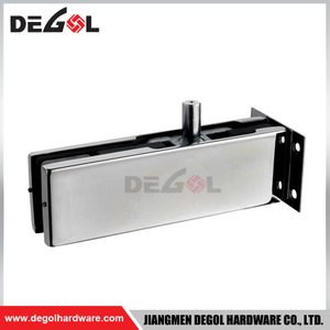 GD1006 stainless steel right angle glass patch fitting shower for frameless glass door