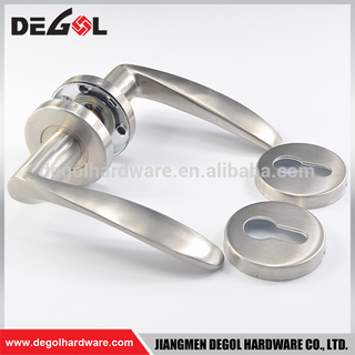 Stainless Steel Heavy Duty Solid Lever Type Self Locking Door Handle
