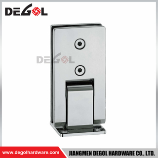 SH1007 stainless steel wall mounted shower door frameless glass hinges