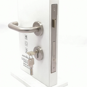 Stainless Steel 304 Door Handle With Lock