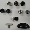 Zinc Alloy Metal Furniture Brushed Nickel Drawer Cabinet Knobs