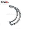 304 stainless steel wrought iron modern door pull handle for glass door