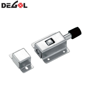 Top quality stainless steel sliding door bolt lock