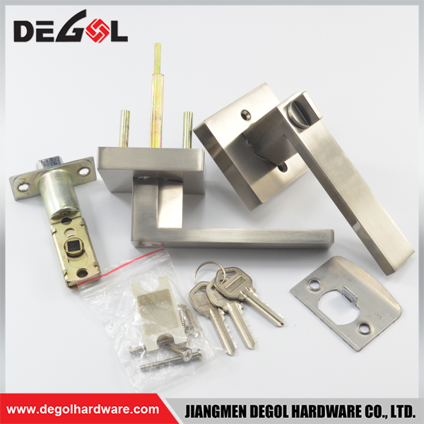 Stainless Steel Round Handle Passage Door Knob Lock