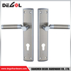BP1007 luxury design stainless steel solid lever door handle cover plates