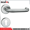 LH1001 Stainless Steel 201 Door Handle with Brass Inset