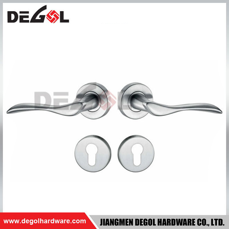 LH1019 Stainless Steel Door Handle 19*135*1.0mm for Door