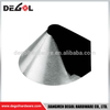 Stainless steel 304 satin finish Umbrella shape door stopper