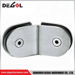 GC1006 135 degree wholesale stainless steel glass shelf clamp