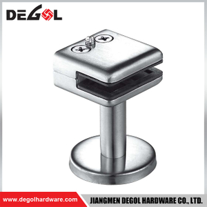 GC1018 Stable top quality stainless steel glass table clamps
