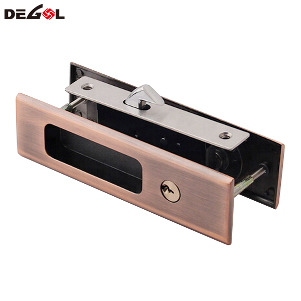 SSS AB AC Zinc Alloy Hook Lock Sliding Door Lock
