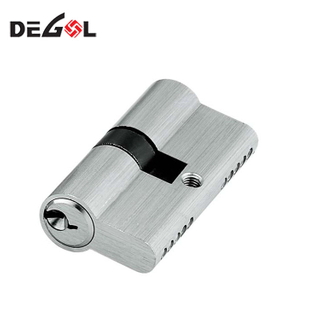70mm euro profile double side cylinder door lock with keys