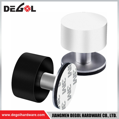 DS10403M VHB Door Stopper White Rubber Stainless Steel Door Stopper in UK Market
