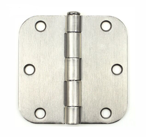 Durable American rounded satin stainless steel 201 door hinge