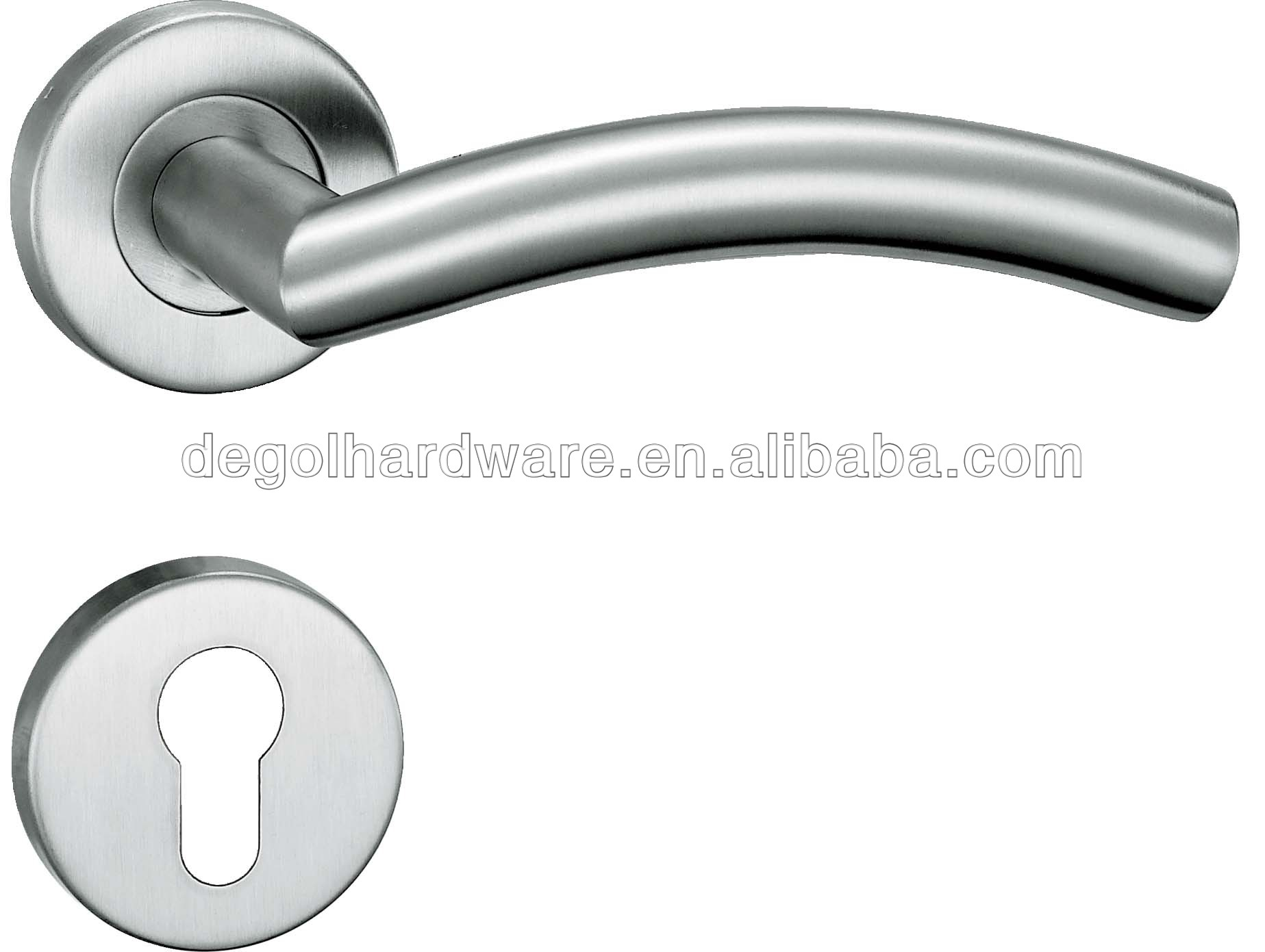 Morden Front Stainless Steel 304 Door Lever Handle