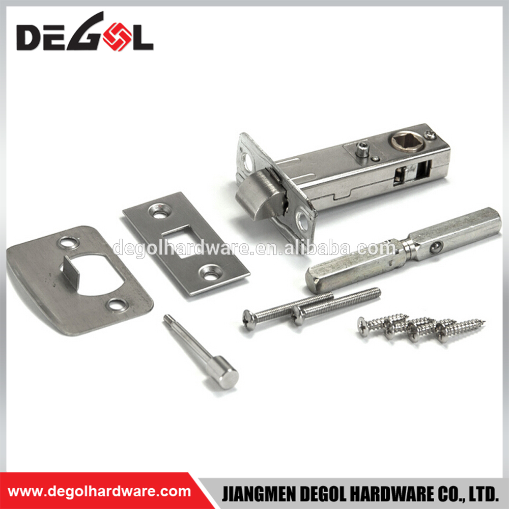 New Modern Zinc Alloy double swinging mortise lever handle lock set