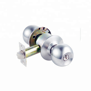 China supplier Best quality stainless steel cylindrical door knob lock for privacy door