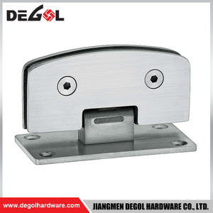 adjustable shower glass door hinge