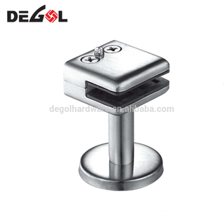 Stable top quality stainless steel glass table clamps