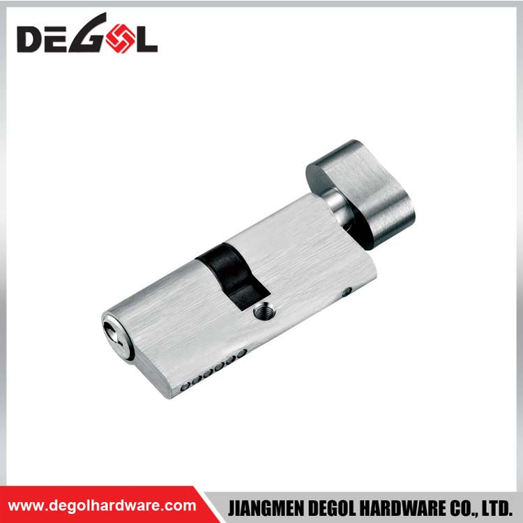 60mm zinc turn knob lock cylinder types door cylinder lock