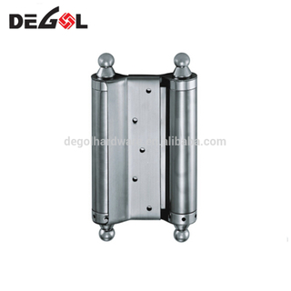 Hot sale stainless steel loaded double action door hinge with spring