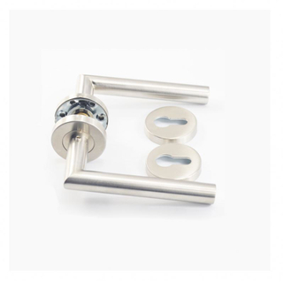 Custom Cheap stainless steel solid lever different type door handle free loading