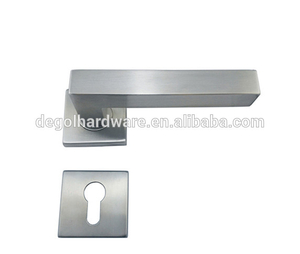 New design China wholesale low price zinc alloy UK style door handle