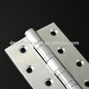 102mm cheap door hinges 304 SS quality 4 ball bearing door hinges