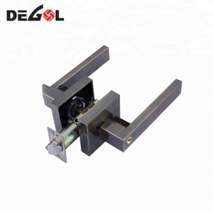 Good Selling New Fancy Zinc Alloy Square Deadbolt Door Lock