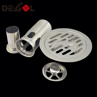 Door Handle With Tube Metal 304 Stainless Steel Floor Drain Grate