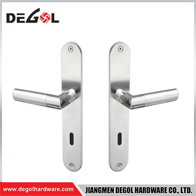 New Product Hollow AB Lever Door Handle With Plate
