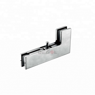 Wholesale bathroom lock patch fitting glass clamp for glass door