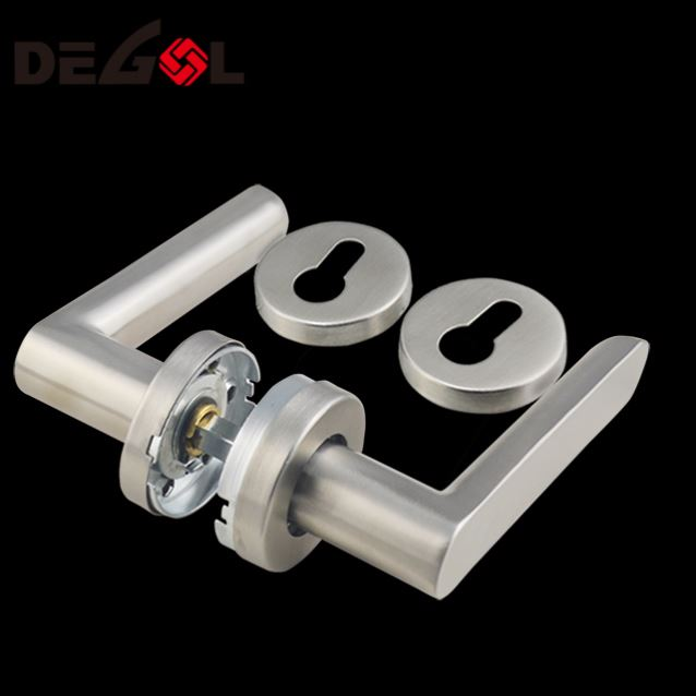High quality cheap modern design hardware stainless steel exterior Lever door handles