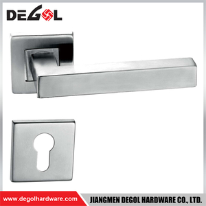 Latest Stainless Steel Square Tube Emergency Exit Ss Door Handle