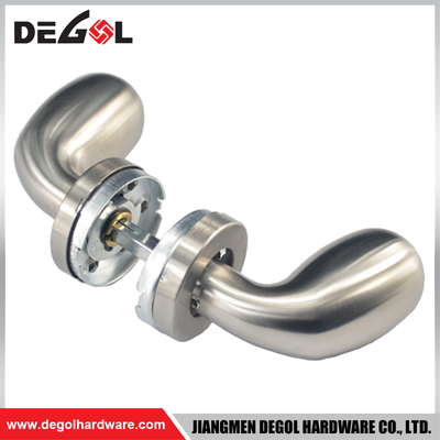 LH1111 stainless steel latest right angel door handle
